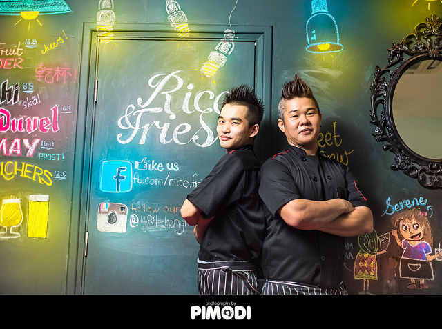 Owner and chef of Rice&Fries