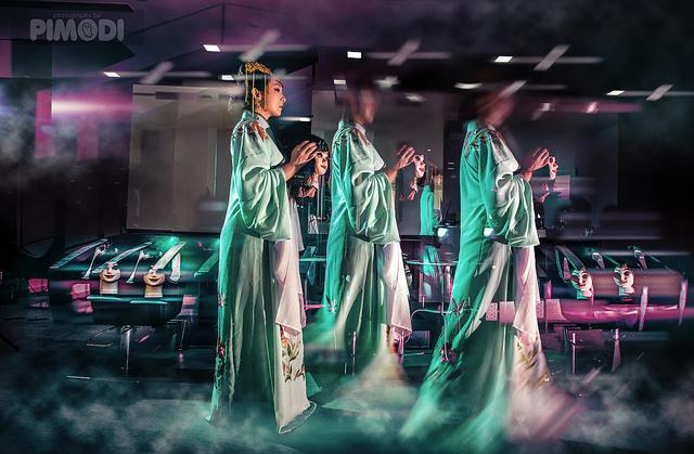 Midnight Salon / Opera Ghost concept shoot