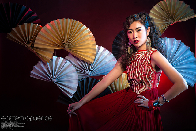 Eastern Opulence Fashion Editorial