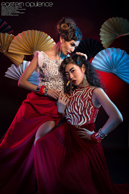 Eastern Opulence Editorial Fashion