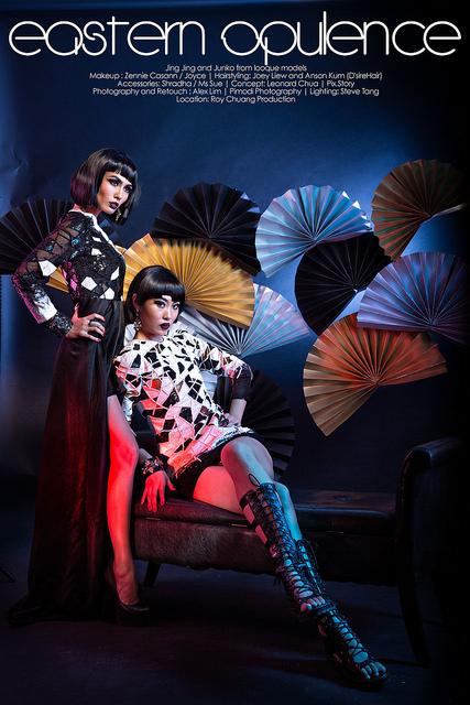 Eastern Opulence Fashion Model