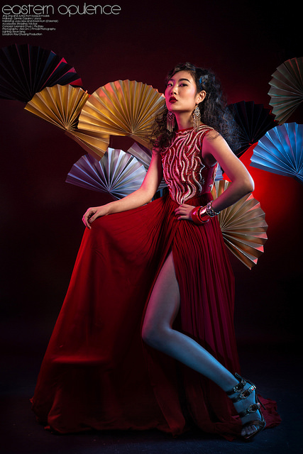 Eastern Opulence Fashionable Portrait