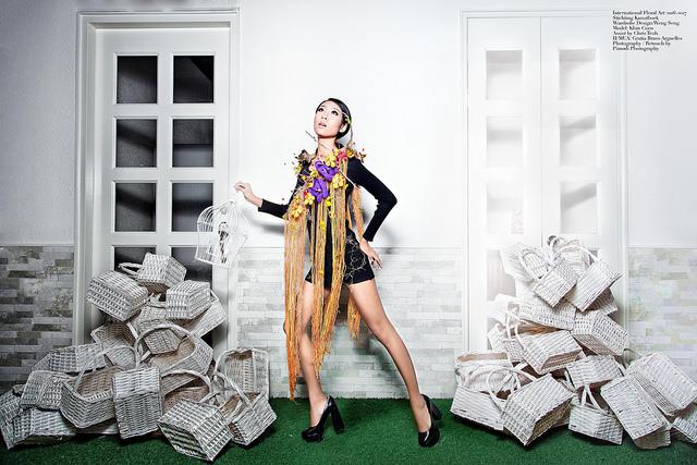 Creative Floral Dress - Coco Khin